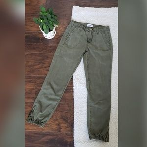 Vintage Ivy green Mayslie Joggers